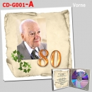 CD-Cover-Karte -Inlay - CD-G-001